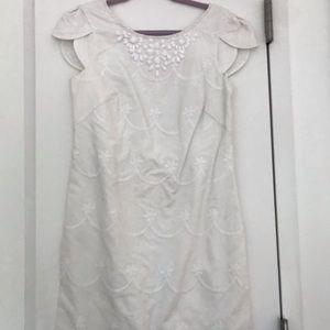 Lily White Sheath Dress